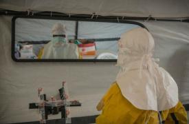 Foto: Intervención de Ébola de MSF © Yann Libessart/MSF