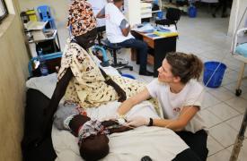 Sala de urgencias en Etiopía
