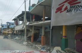 Terremoto en Ecuador ©MSF
