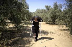 Franja de Gaza un año de los disparos en la frontera