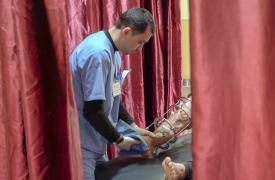 Heridos en la Franja de Gaza
