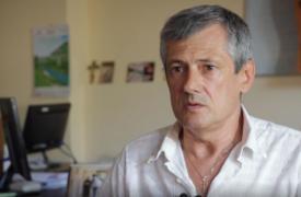 Ihor Skalko recibió el tratamiento de MSF contra la hepatitis C con éxito.