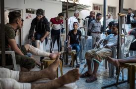 Heridos en las marchas en la franja de Gaza