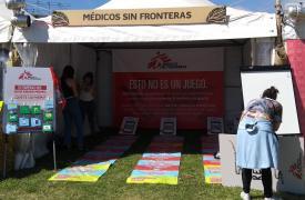 Médicos Sin Fronteras en el Lolapalooza