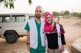 Michal desmiente creencias sobre cómo es trabajar con Médicos Sin Fronteras.