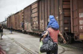 Migrantes y refugiados en la frontera de México