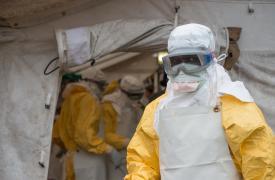 Respuesta de Médicos Sin Fronteras a la epidemia de Ébola en República Democrática del Congo en 2014 ©Gabriele François Casini/MSF