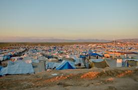 Campo de refugiados de Domiz, Irak. Con la inseguridad y la violencia que afecta a toda la población en Siria, muchos sirios han optado por huir a Irak. ©Pierre-Yves Bernard/MSF