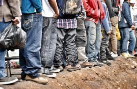 Foto del proyecto de atención a migrantes. Lechería, México.