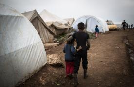 Campo de desplazados en Siria © Chris Huby