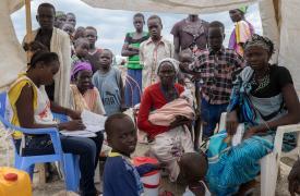 Actividades de Médicos sin Fronteras en Bentiu, Sudán del Sur. MSF