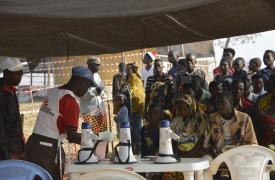 Clínicas móviles de MSF en Nyarugusu © Eveline Meier/MSF