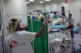 Sala de Emergencias. Médicos Sin Fronteras en Adén, Yemen. Guillaume Binet/MYOP