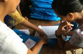Respuesta de MSF a las inundaciones en Myanmar