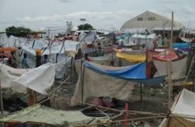 Centro protección de civiles en Malakal, Sudán del Sur