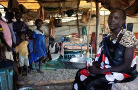 Campo de protección de civiles de la ONU en Malakal Sudán del Sur Jacob Kuehn/MSF