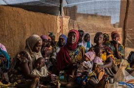Desde marzo pasado, MSF está implementando un paquete preventivo y curativo de cuidados integrales en el área de Tama, distrito de Bouza, en la región de Tahoua ©Juan Carlos Tomassi/MSF