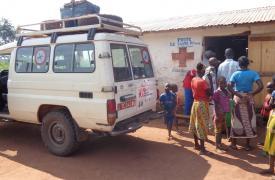 Vacunación de emergencia de Médicos Sin Fronteras en RCA