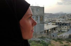 Crystal van Leeuwen en Yemen ©MSF