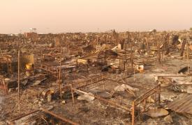 Centro de Protección de Civiles (PoC) de la ONU en Malakal, Sudán del Sur