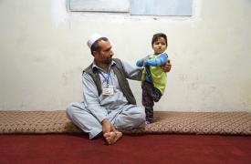 Shaista, sobreviviente de Kunduz y su papá