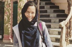 Evangeline Cua, cirujana filipina, estaba trabajando en el hospital de Médicos Sin Fronteras (MSF) en Kunduz, Afganistán, cuando fue destruido por ataques aéreos estadounidenses. ©MSF