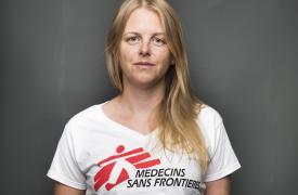 Kathleen Thomas estaba trabajando en el hospital de Médicos Sin Fronteras (MSF) en Kunduz, Afganistán, cuando fue destruido por ataques aéreos estadounidenses. ©Nic Walker/The Good Weekend