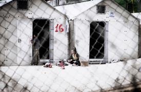 Desde el acuerdo entre Europa y Turquía los campos de refugiados griegos se convirtieron en centros de detención