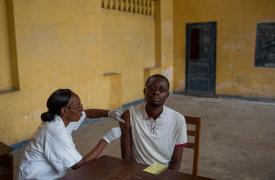 Vacunación de MSF en Matadi, República Democrática del Congo. Mayo 2016