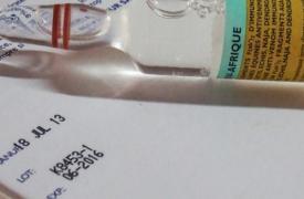 Las dosis existentes de FAV-Afrique caducarán en junio de 2016Alexandra Malm/MSF