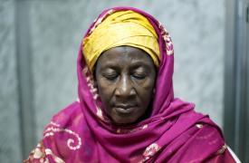 Salematou Camara tiene 61 años y es sobreviviente de Ébola. ©Albert Masias/MSF