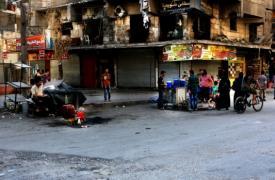 Inmediaciones del hospital M10, en el este de Alepo, bombardeado tres veces desde el 28 de septiembre. Foto del 5 de octubre.MSF/Ghaiz Yaqut al Murjan