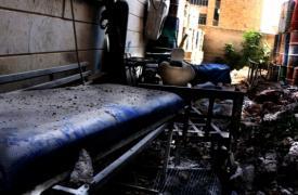 Hospital de trauma M10 de Alepo, apoyado por MSF. MSF/Ghaith Yaqout Al-Murjan