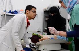 Médicos Sin Fronteras en Taiz, Yemen ©Malak Shaher/MSF