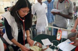 Fotografía de Joanne Liu, presidenta internacional de Médicos Sin Fronteras (MSF)