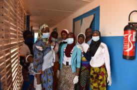 Costa de Marfil, hospital Katiola, 2017.