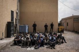 Detenidos en Janzour (Tripoli, Libia) © Guillaume Binet/Myop
