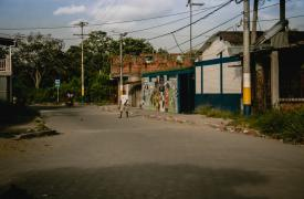 11 de Diciembre es un pequeño pueblo cerca de Tumaco, Colombia. Hasta hace poco, la zona estuvo ocupada por las FARC, la guerrilla izquierdista. ©Fabio Basone