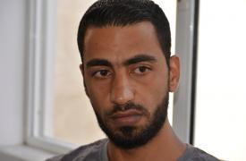 Mohammad (nombre ficticio), migrante sirio atrapado en Grecia. ©Tiziana Cauli/MSF