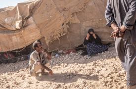 Refugiados sirios en el campo Ain Issa ©Agnes Varraine-Leca/MSF