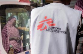 Cirujanos nigerianos de Médicos Sin Fronteras