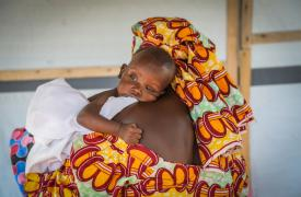 Atención médica para niños en Magaria, niños.