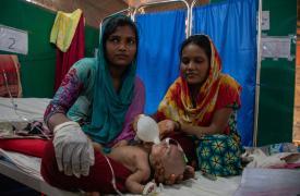 Asistencia a refugiados rohingya.