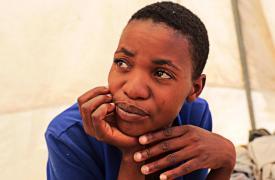 Centro de Tratamiento contra la emergencia de cólera