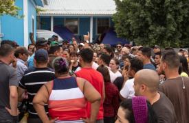 Reynosa, una ciudad con un alto nivel de inseguridad y sin capacidad para prestar asistencia humanitaria, se ha convertido irónicamente en un punto de tránsito forzado para miles de personas que buscan asilo en los Estados Unidos.