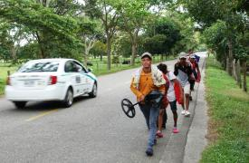 Un equipo de Médicos Sin Fronteras en Tame, Arauca, está enfocado en tratar a personas que caminan desde Venezuela, de los que más de 1.000 ingresan a Colombia en el área de Arauca cada mes, en su camino a otras ciudades de Colombia o países vecinos.
