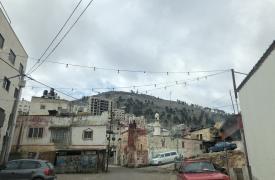 Nablus, a 48 km al norte de Jerusalén, representó el mayor número de incidentes violentos entre israelíes y palestinos en 2018.