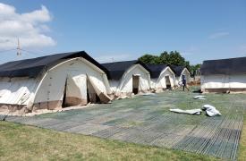 Desde Médicos Sin Fronteras (MSF) abrimos un centro de tratamiento COVID-19 en Drouillard, Haití, con una capacidad de 20 camas que puede ampliarse hasta 45.