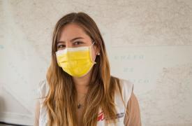 Laura Gómez, coordinadora del proyecto COVID-19 en México.
