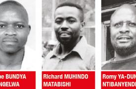 Philippe Bundya Musongelwa, Richard Muhindo Matabishi y Romy Ya-Dunia Ntibanyendera